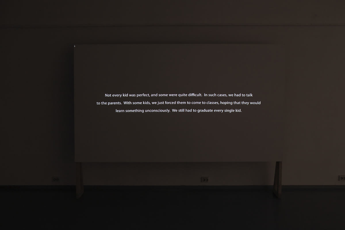 Tatiana Istomina, 'Narrative machine: How we lived then' (2014), Still image from a multimedia projection