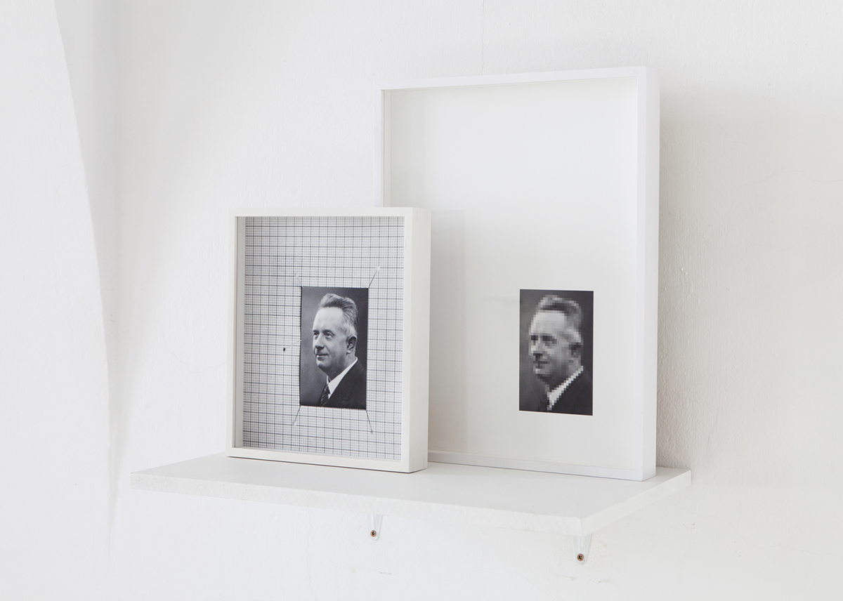 Juuso Noronkoski & Mikko Rikala, 'Pleased With Modernism' (2015), Two pigment prints, 40 x 30cm & 27 x 23cm